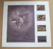 Andy Serkis Signed Lord Of The Rings Lythograph Display Set - Gollum